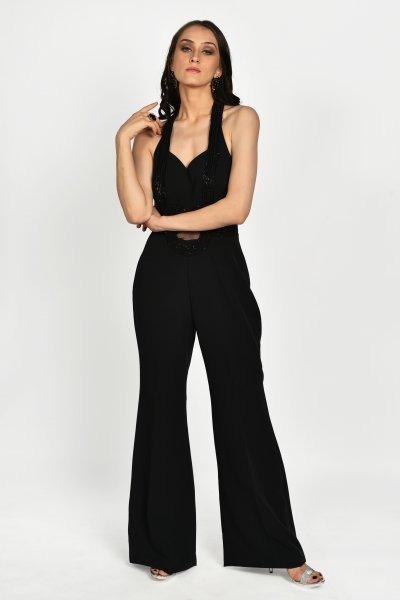 ONYX BLACK JUMPSUIT